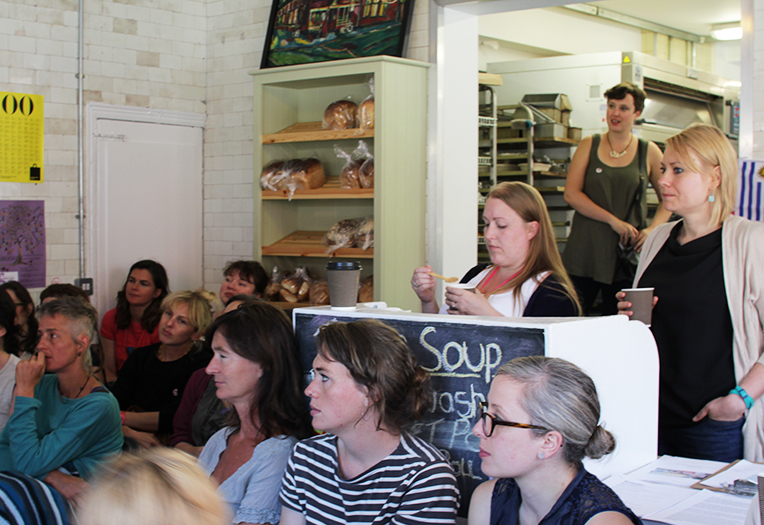 Delegates listening intently. Photo: Georgina Bolton